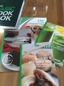 New cookbooks