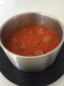 Meatballs in a tomato sauce