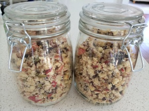 Makes two jars of muesli