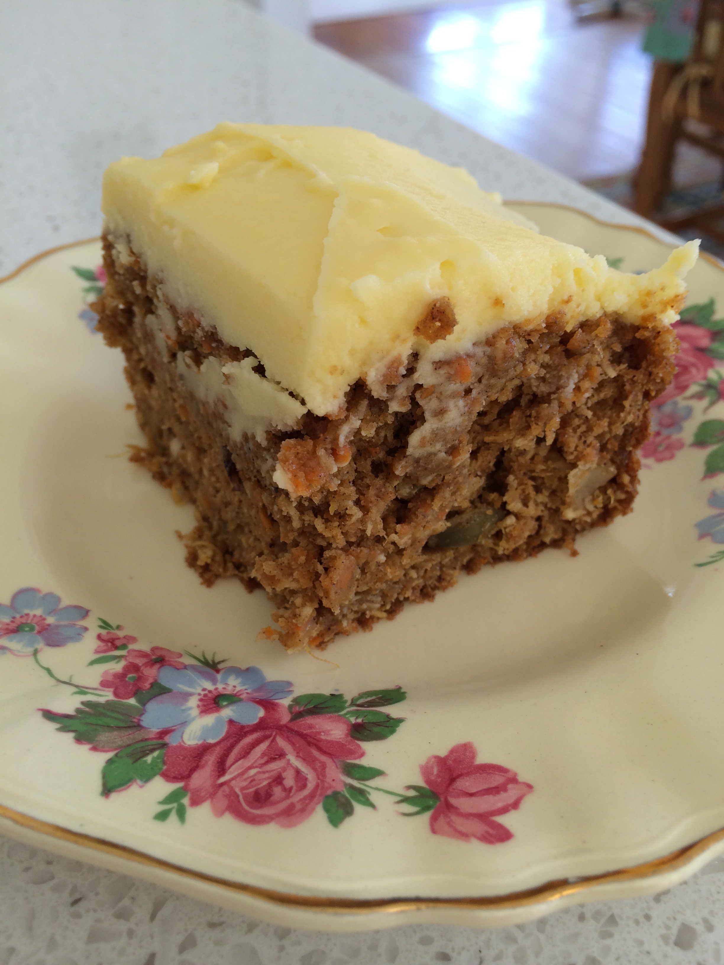 Carrot Cake And Weetbix