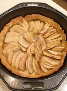 Apple tart second time