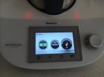Three touchscreen dials