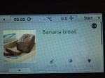Touchscreen recipe