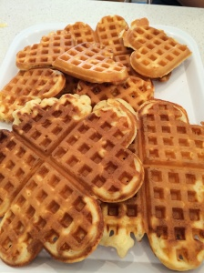 Sugar free waffles