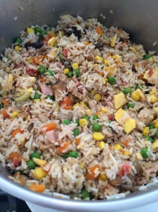 Non fried rice