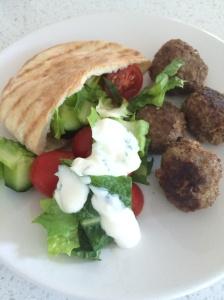 Lebanese style meatballs