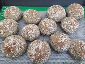Soft paleo buns