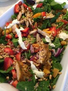 Morrocan chicken salad