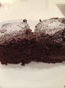 Masterchef chocolate brownie
